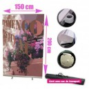 Stand Roll-up 150x200cm