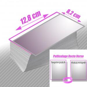 Cartes 8,2x12,8 Pelliculé Recto/Verso