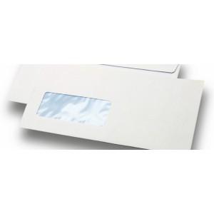 Enveloppes 11x22 avec fenetre (10x21)
