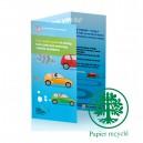 Depliants/Plaquettes ecologique A3 ouvert