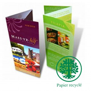 Brochures ecologique A4 12 pages (avec couverture 300g)