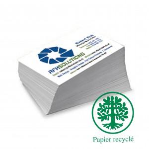 Cartes double ecologique 8,2x12,8