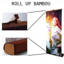Recharge pour Stand Roll-up Bio Eco Affiche seul